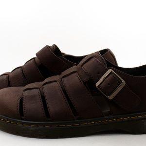 Dr. Martens Fenton Leather Fisherman Sandals Sz 9